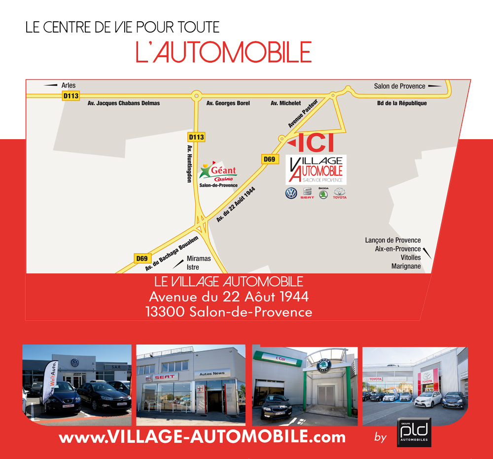 Le village automobile salon de provence on y va tous for Garage volkswagen salon de provence